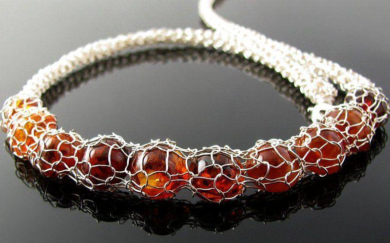 The Perfect DIY Wire Crochet Jewelry [Free Pattern   Crochet de ...
