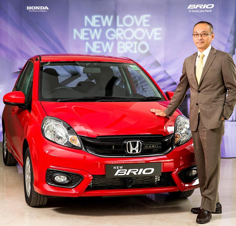 2016 Honda Brio Facelift launched in India at INR 4.69 lakhs https://blog.gaadikey.com/2016-honda-brio-facelift-launched-india-price-colors-features/
