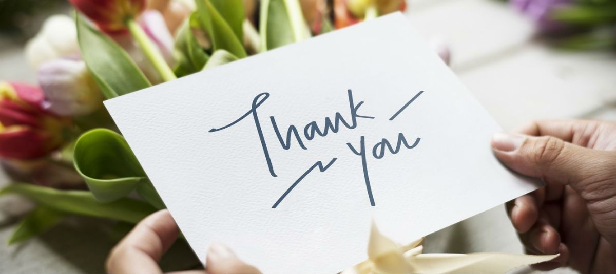 15 creative ways to say thank you to your donors