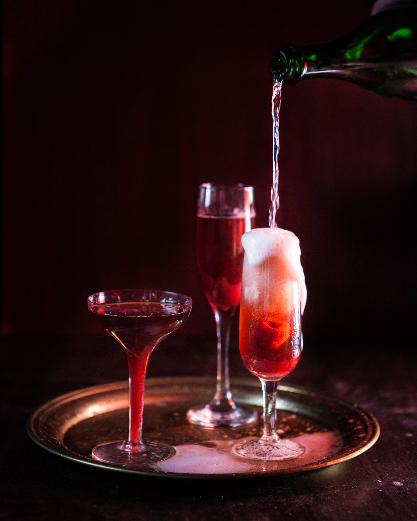 Pin By Mike Sipe On Food Raspberry Champagne Cocktails Champagne Recipes Cocktails Delicious Cocktails