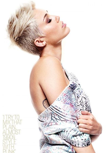 Celebrity Short Cuts 2013 Miley Cyrus Short Haircuts And Haircuts