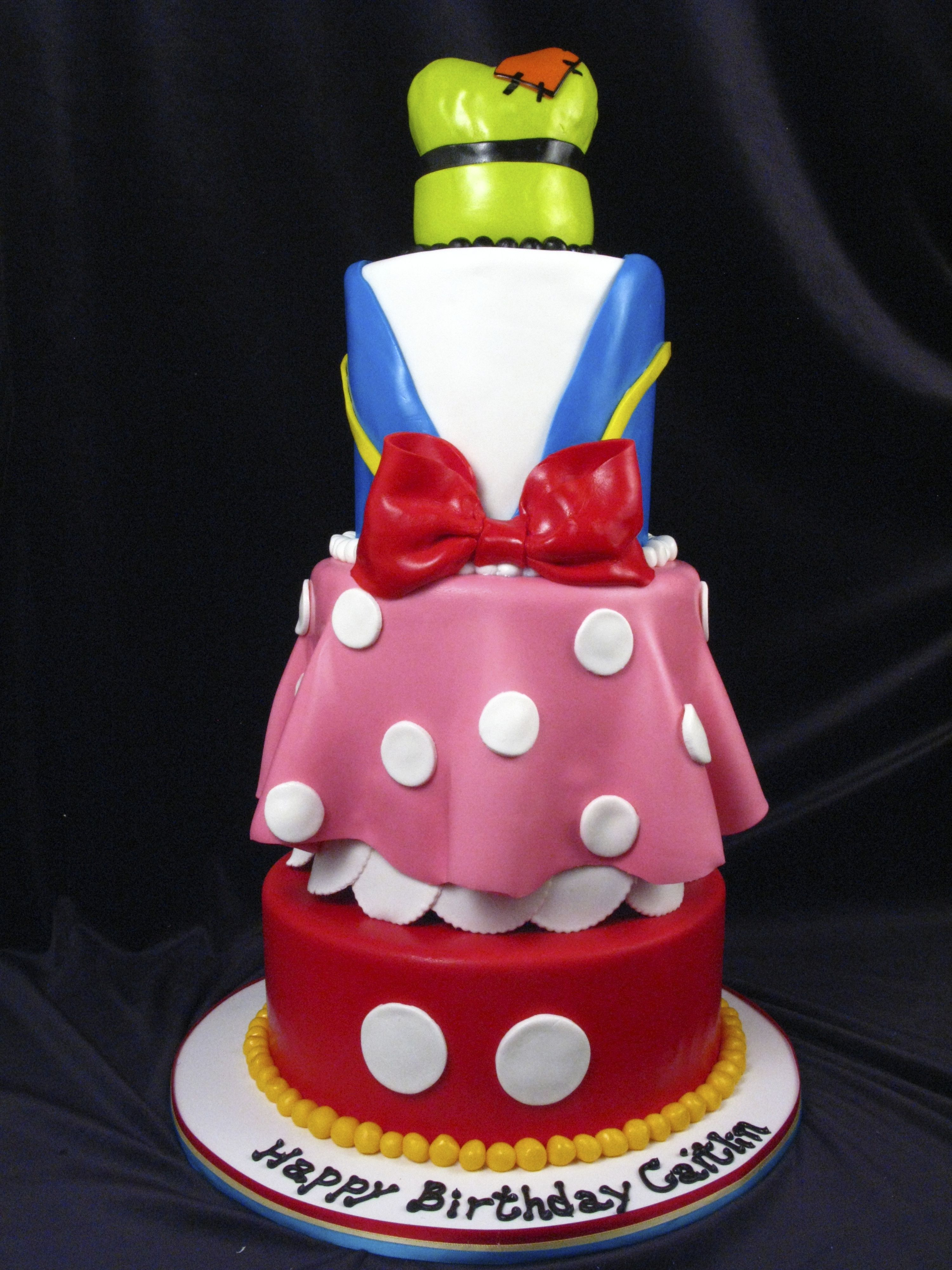 Mickey Mouse Amp Friends Birthday Cake Mickey Mouse