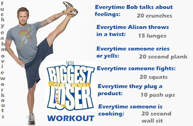 Watch The Biggest Loser and workout!