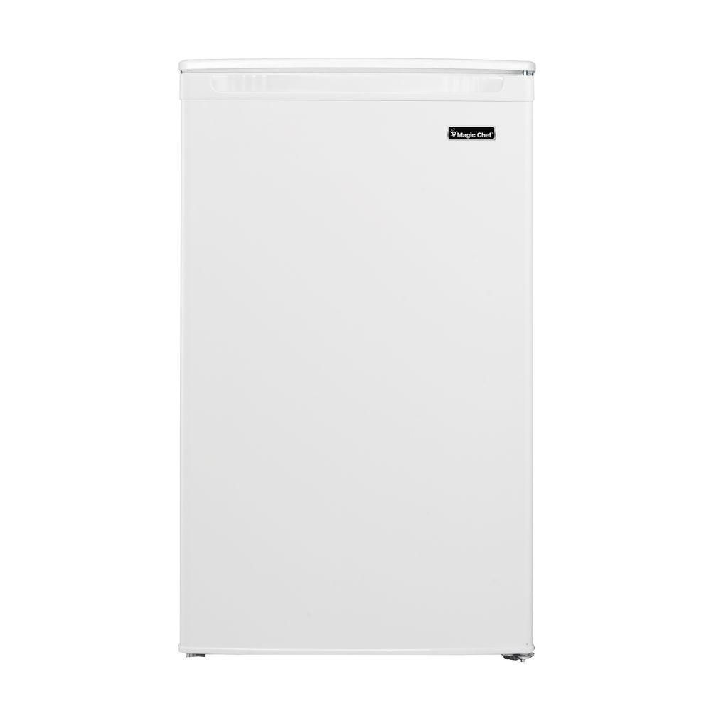 Magic chef cu ft mini refrigerator in white refrigerator