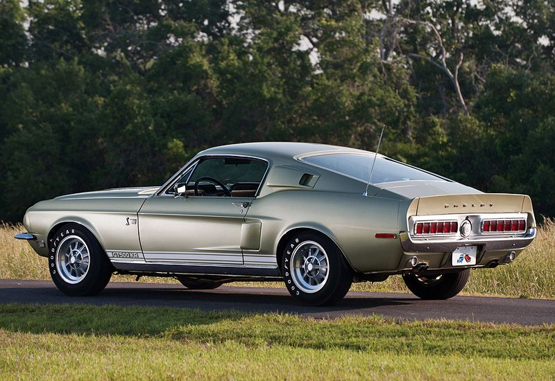 1968 Ford Mustang Shelby Gt500 Kr Ford Mustang 1968 Ford Mustang Mustang Shelby