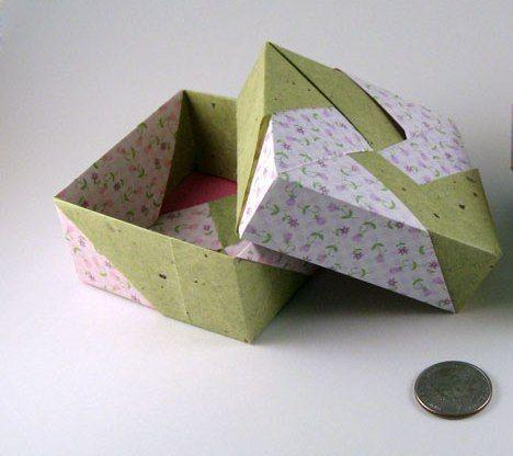 Origami Maniacs: Beautiful Square Box By Tomoko Fuse