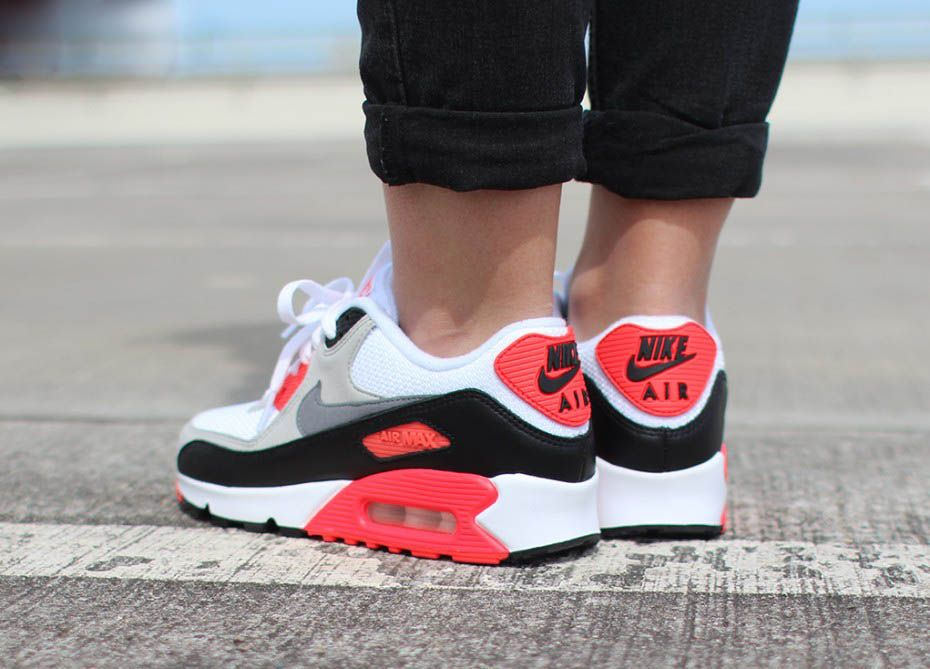 Og 'infrared' In Nike 2015 Air Max 90 2019 yYf76gvbI