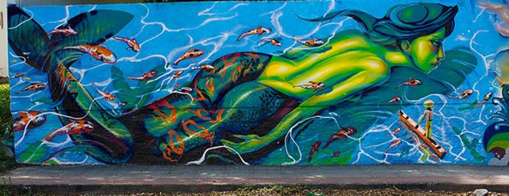 mermaid grafite
