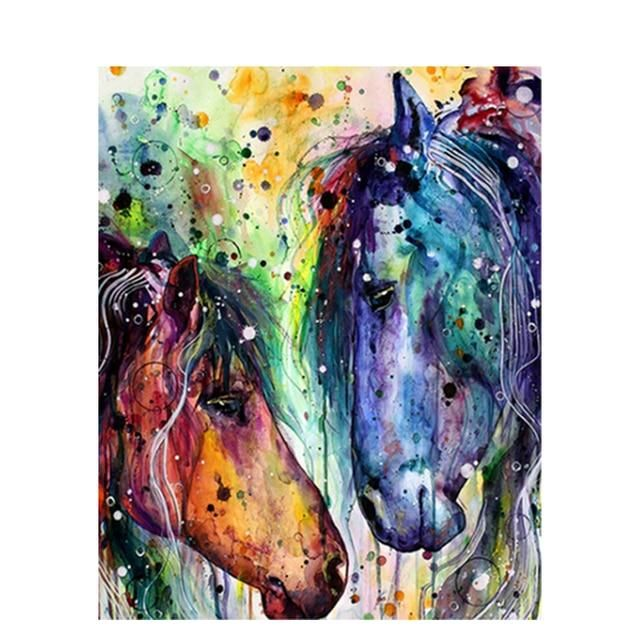 Photo of Fun and Easy Paint By Numbers Animals – 991443 / 60x75cm no frame