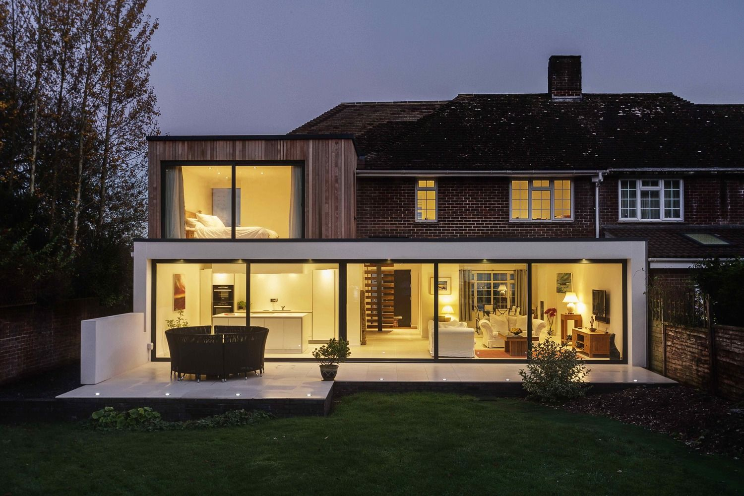 Adam architecture groundbreaking country house in hampshire - Gallery Of The Beckett House Adam Knibb Architects 1