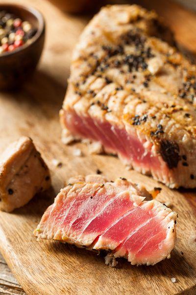 Pic: Homemade Grilled Sesame Tuna Steak