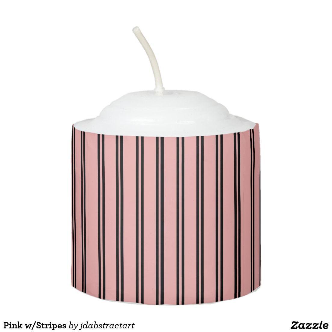 Pink w/Stripes