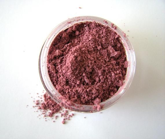 French Rose Mineral Powder Blush - Mineral Makeup - Cheek Color - Carmine Free - Natural Cosmetics - Bath and Beauty - Clean Makeup - Vegan
