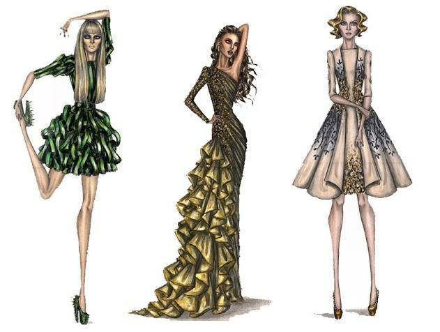 Factors in drawing fashion sketches | Sketchs Ideas | NIce sketch ...