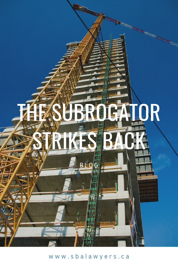 The Subrogator Strikes Back Law Blog Stress Relaxation Summary