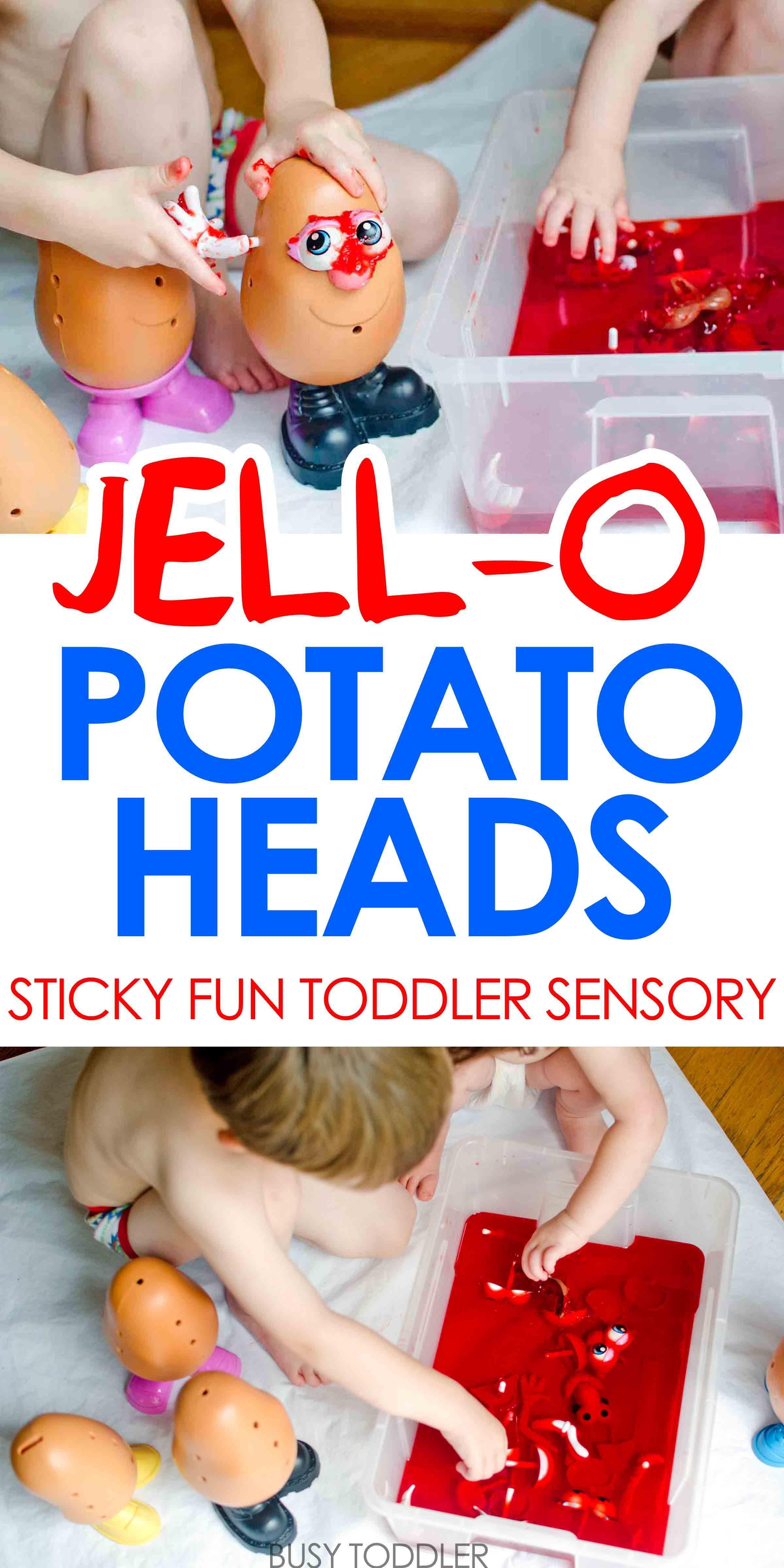 jell o potato heads