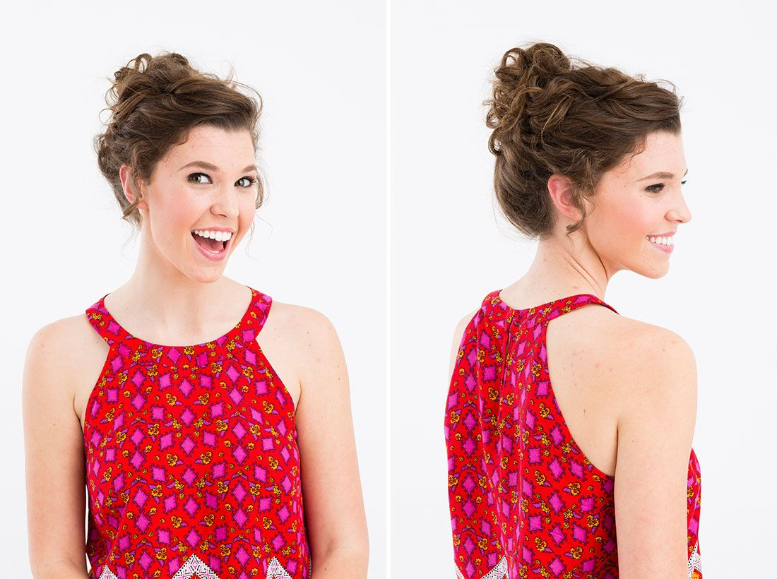 3 Hair Hacks for Curly-Haired Girls | Curly, Updo and Hair style