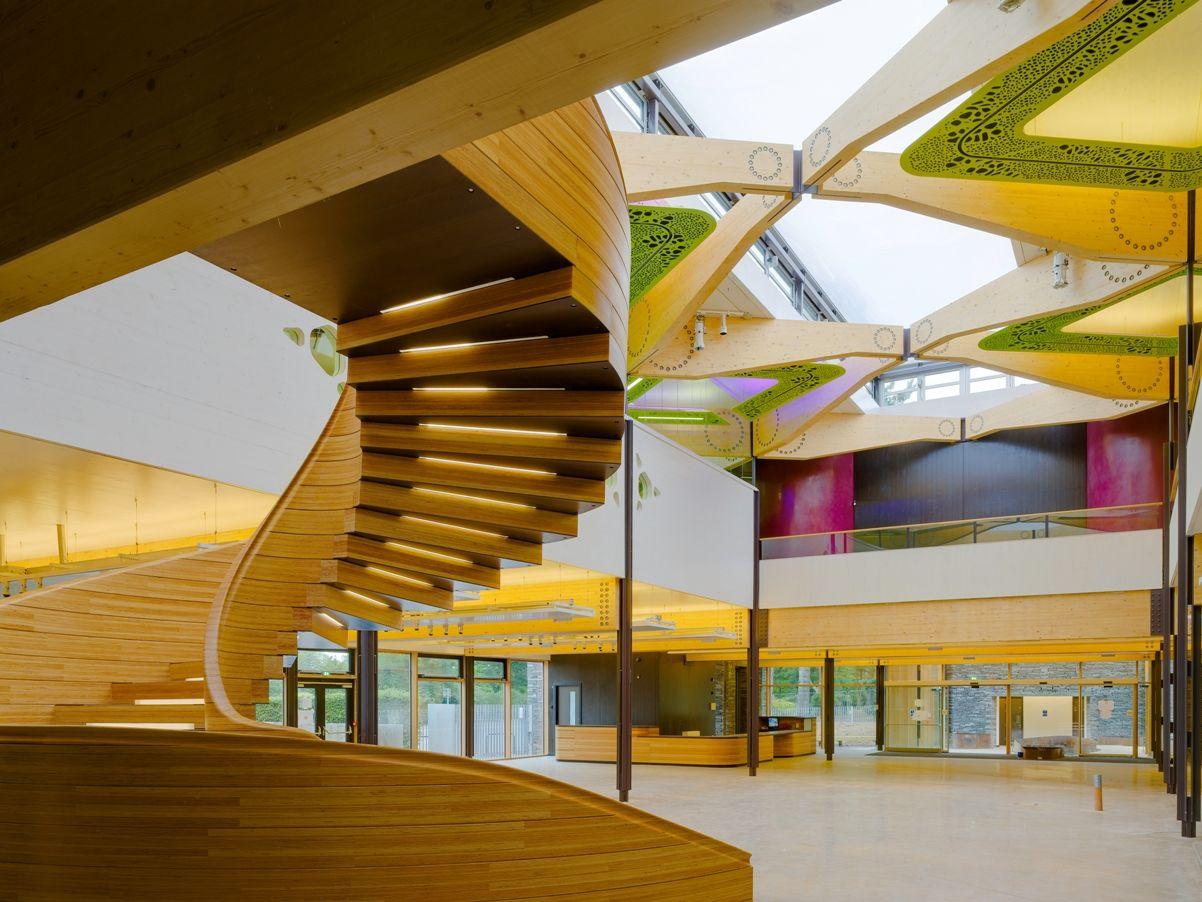 The John Hope Gateway Royal Botanic Garden Edinburgh Architecture Zoo Architecture Hopkins Architects