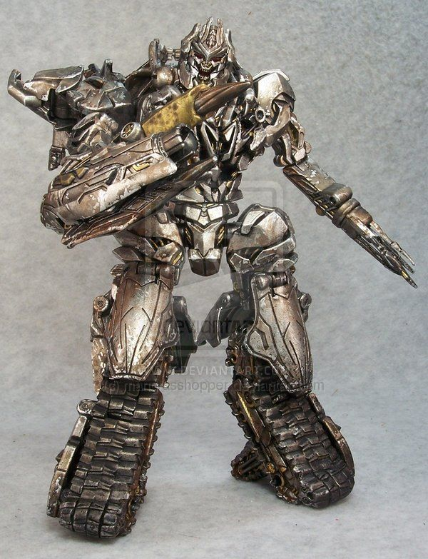 Megatron re-paint by ~mangrasshopper on deviantART