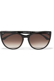 52de9a34750c Gucci Sunglasses GG 4262/S Bamboo and Metal Shield Women's Sunglasses  ($430) ❤ liked on Polyvore featuring accessories, eyewear, sunglasse…