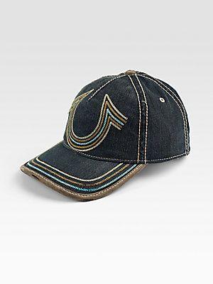 87131247748cab True Religion Horseshoe Stitch Baseball Cap | Clothes | Baseball cap ...