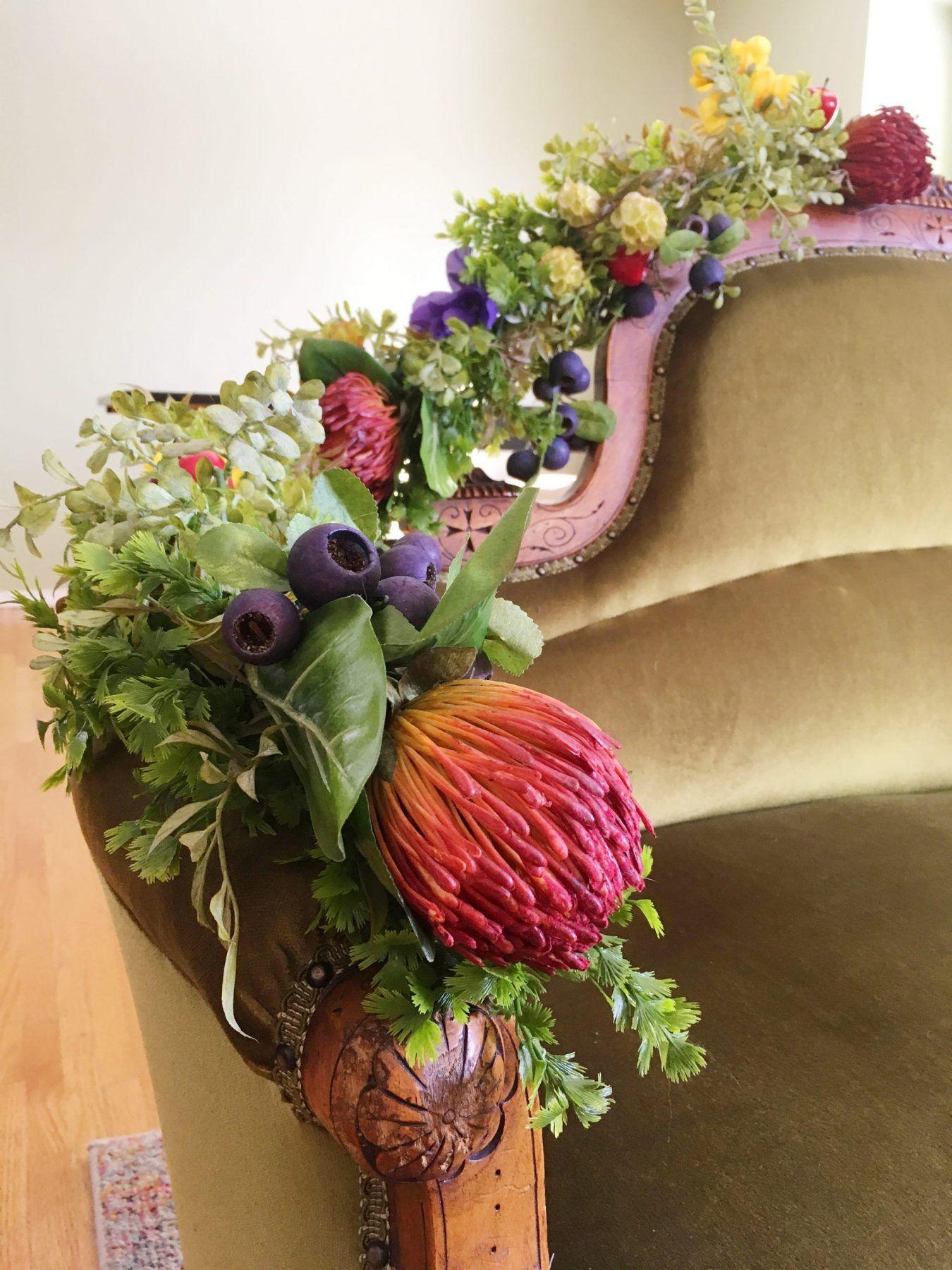DIY Silk Flower & Greenery Garlands [Tutorial] Greenery