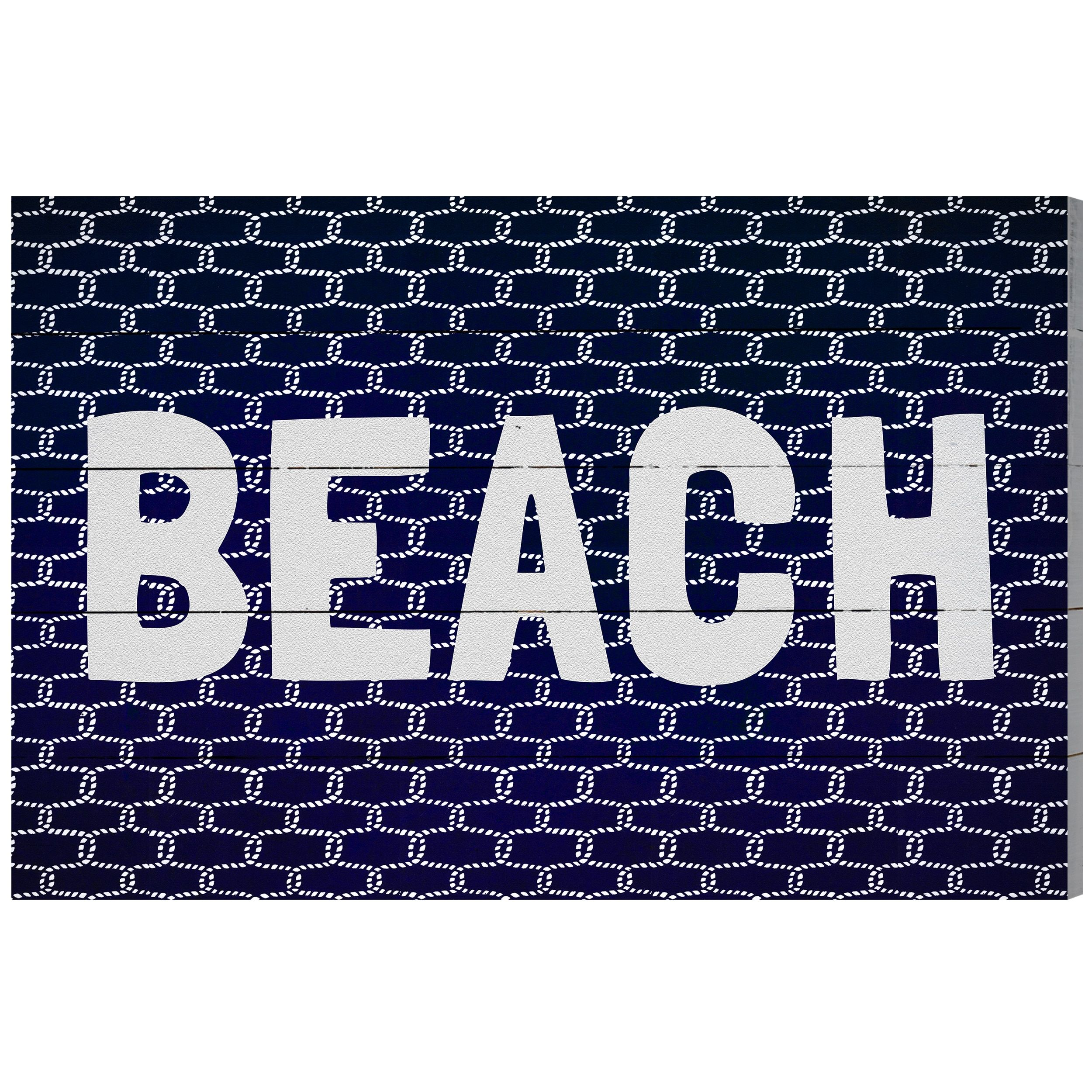 Wynwood studio ubeach knotu wood plaque art products pinterest