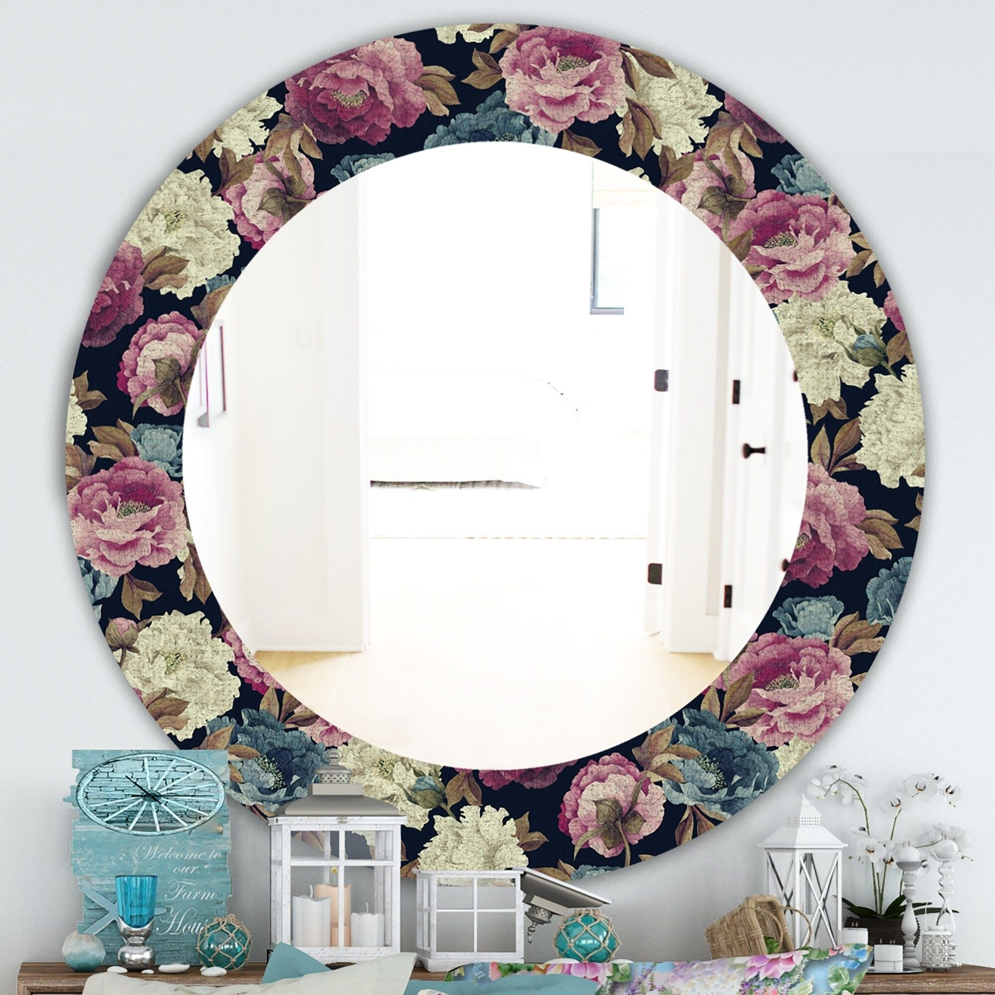 Overstock Com Online Shopping Bedding Furniture Electronics Jewelry Clothing More In 2020 Traditional Mirrors Round Wall Mirror Traditional Wall Mirrors