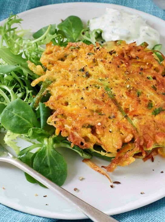 Low FODMAP and Gluten Free Recipe - Carrot and feta fritters http://www.ibssano.com/low_fodmap_recipe_carrot_feta_fritters.html