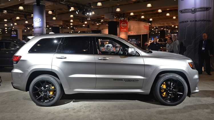 Why The 2018 Jeep Grand Cherokee Trackhawk Really Exists Jeep