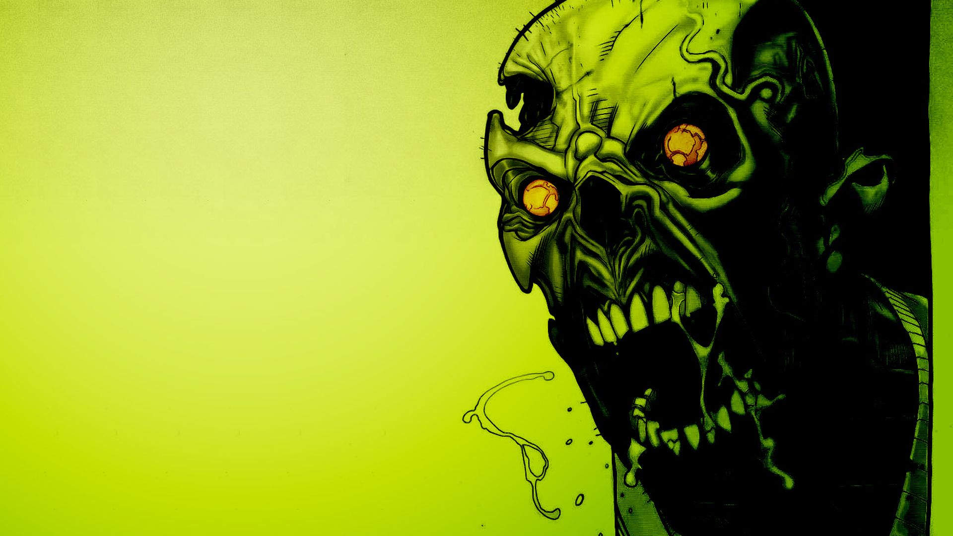 Scary Wallpaper Zombie Eyes Downloads Backgrounds