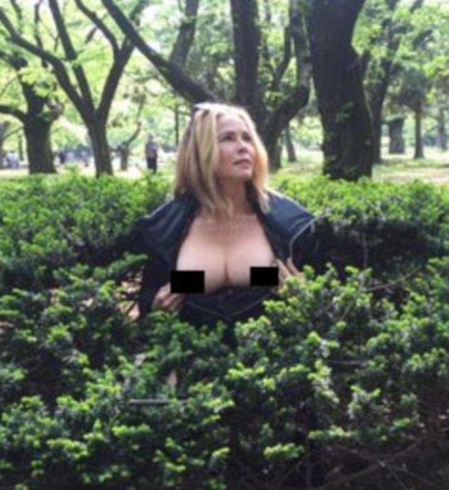 Single female nudist