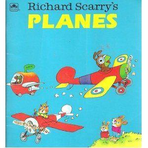 Richard Scarry's Planes (Golden Little Look-Look Book.)