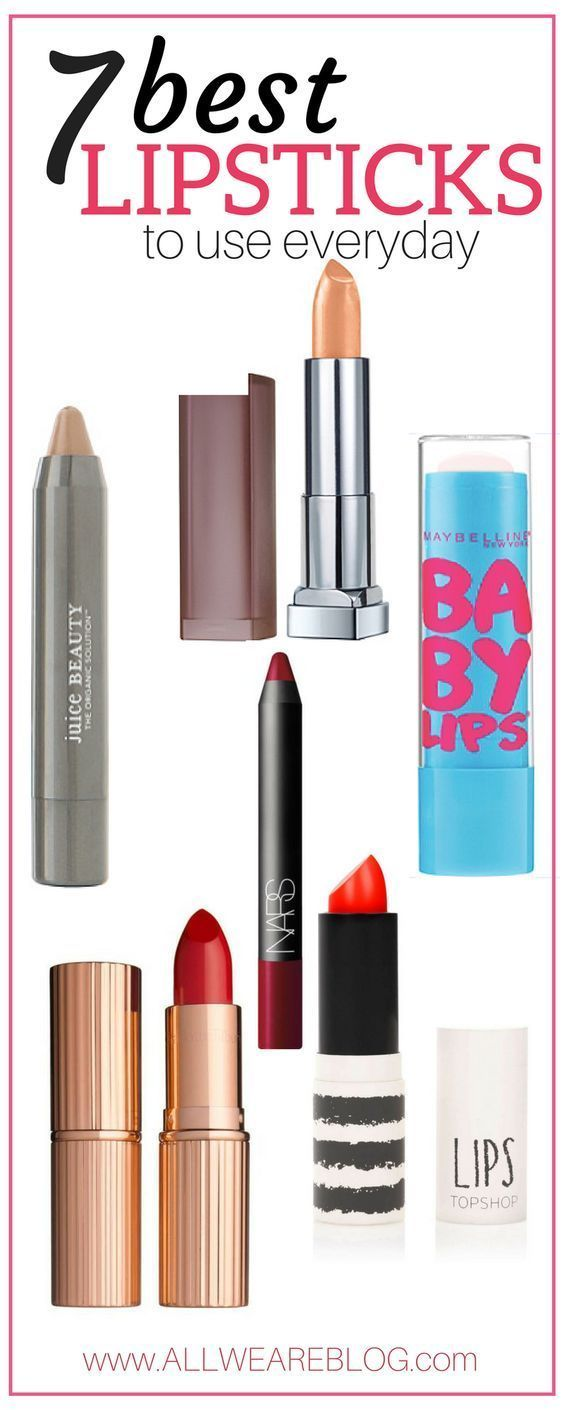 my favorite lipsticks • The Modern Mère - all my favorite natural lipsticks perfect for everyda