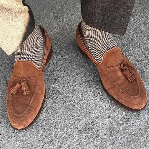 352a21d6458 Cavendish in Polo Brown Calf Suede - photo credit   datinventory ...