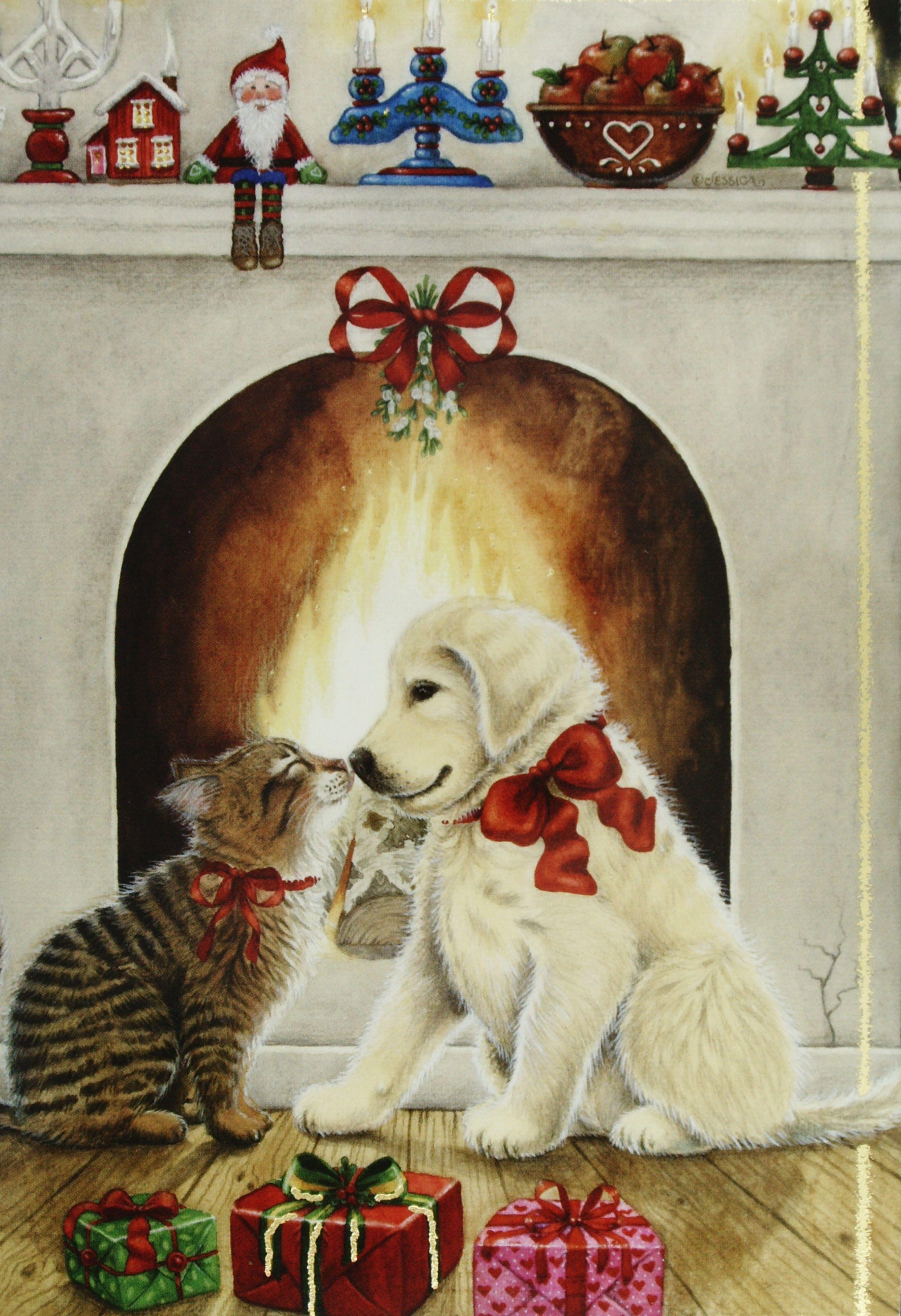 Mistletoe   Scrapbooking   Pinterest   Weihnachten, Servietten und ...