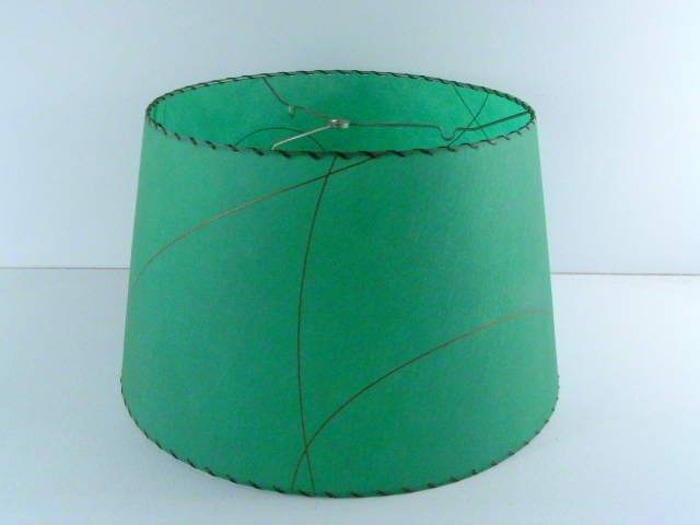 antique old vintage retro fiberglass lamp shade from the 1950s ...
