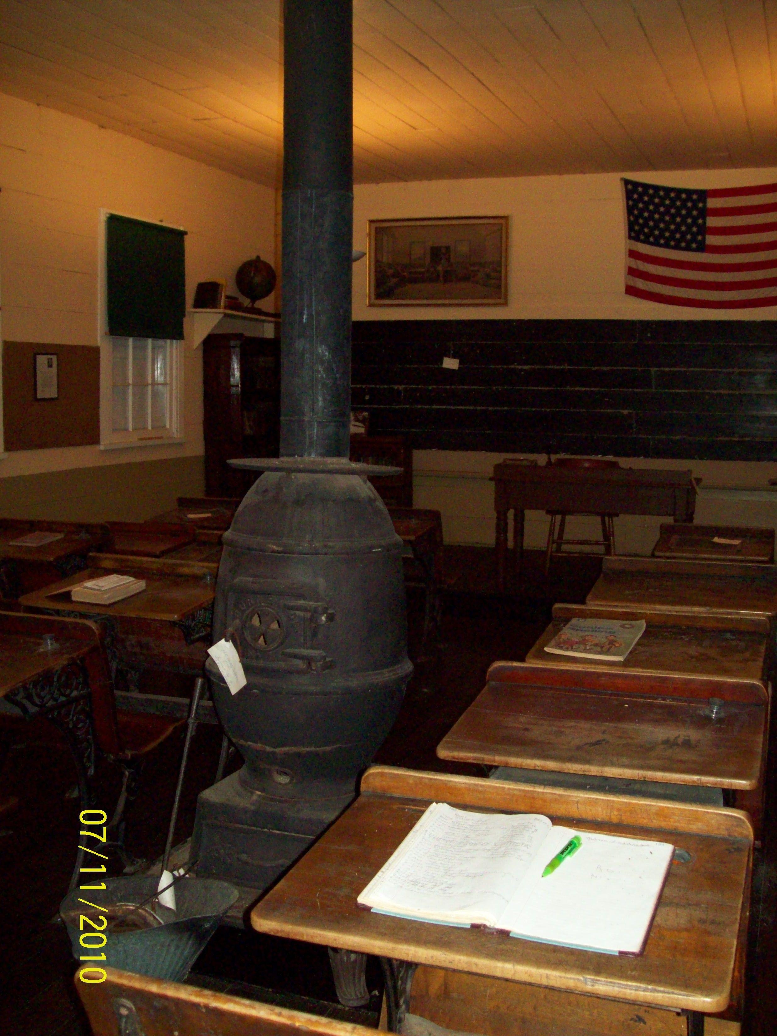 Potbelly Stove Canaan One Room School House Farmington Pa/ Fayette Co