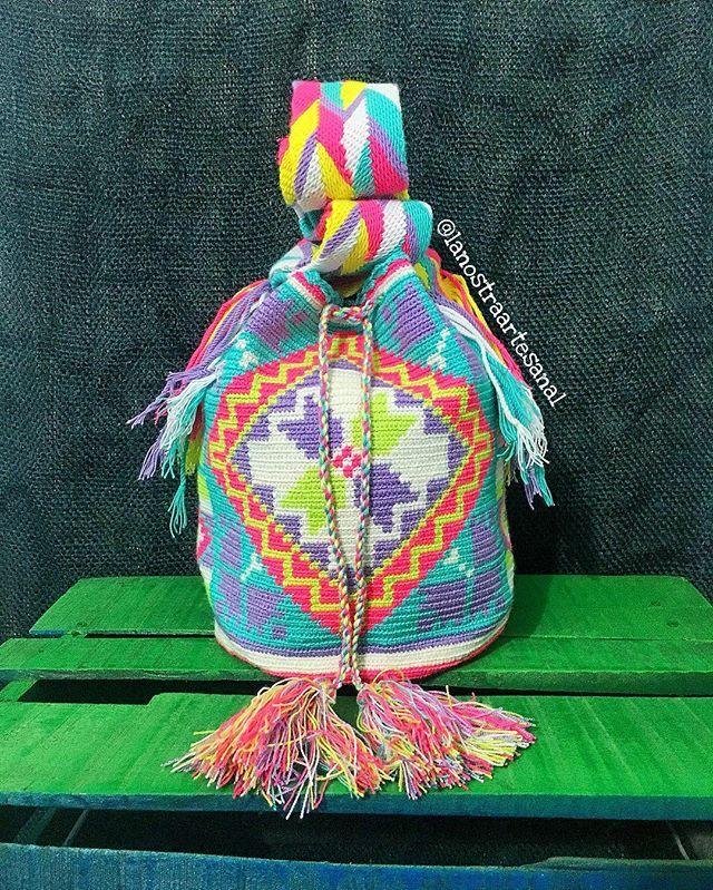 Wayuu Bags Multicolor  - Handmade - Original Wayuu @lanostraartesanal