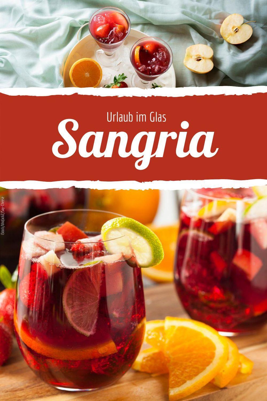 Sommerliche Sangria einfach selber machen