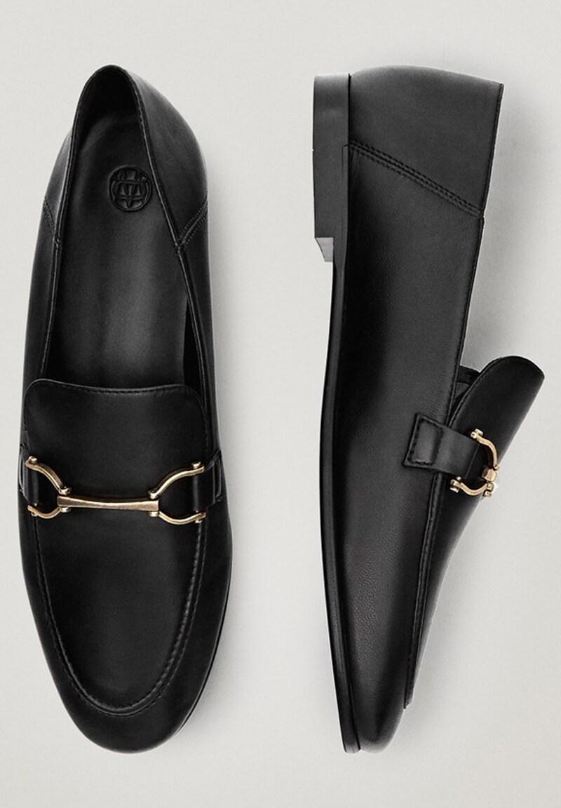 Massimo Dutti Schwarze Mit Ziernaht Mokasyny Black Zalando Pl Dress Shoes Men Oxford Shoes Loafers