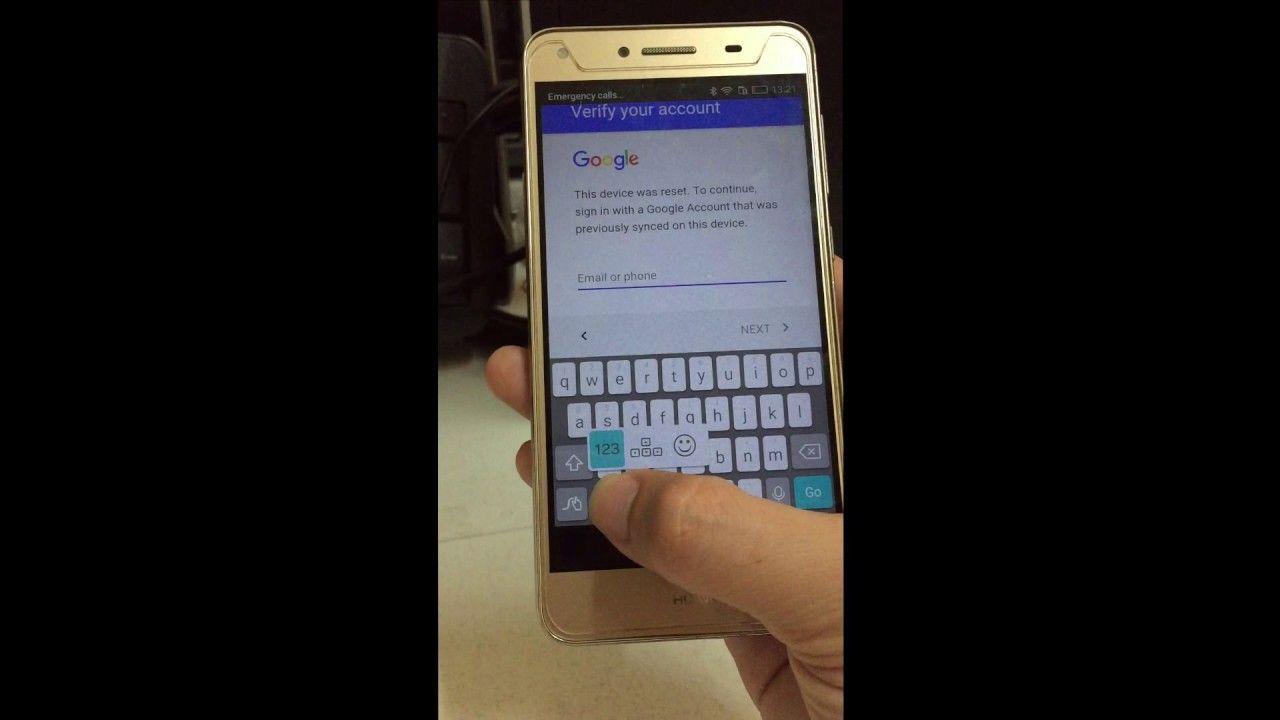 Bypass google account Huawei Y5II Cun U29 | FRP Google account