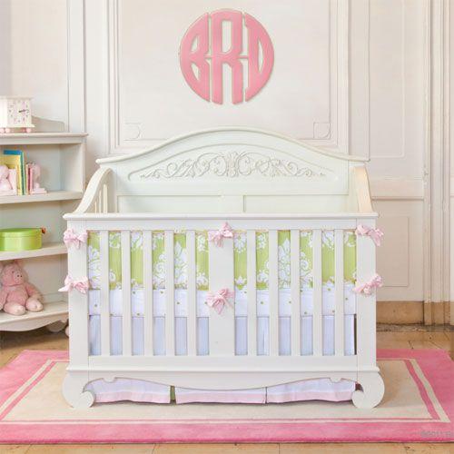 Chelsea Lifetime Crib In White Cribs Baby Cribs Baby Crib Bedding