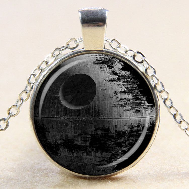Death Star Design Pendant   Price   7.95   FREE Shipping     TheForceAwakens 4f222e28dc
