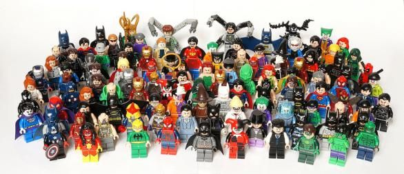 Lego super heroes minifigures lego pinterest lego - Logo super heros ...