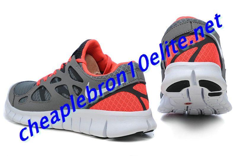 3a4d8b2533163 Grey Orange Nike Free Run 2 Womens 443816 016