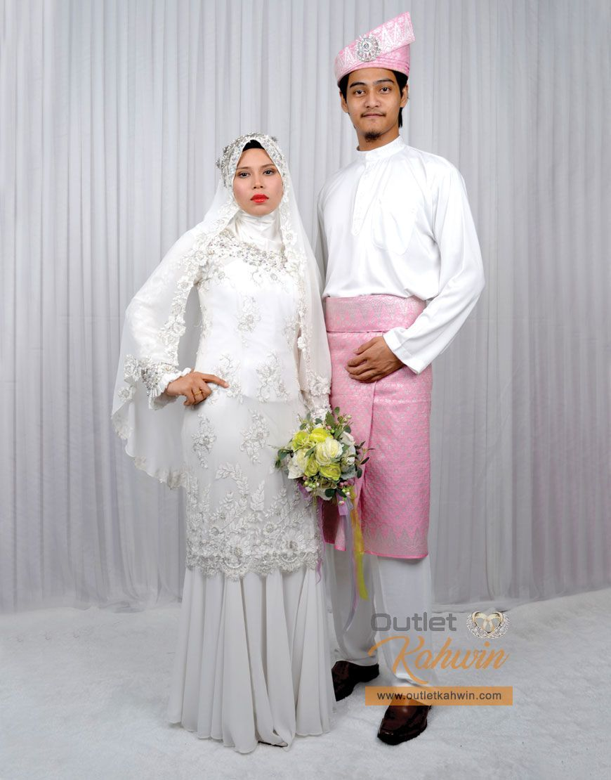 Baju Pengantin Sepasang PB-BP11-S  Dresses, Fashion, Nun dress