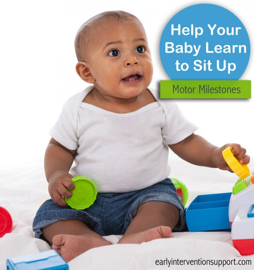 How To Help Baby Sit Up Independently Eis Baby Learning Teaching Babies Helping Baby Sit Up