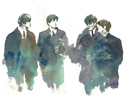 "The Beatles! Can I get this as a poster? Might need to make a ""posters"" board...."
