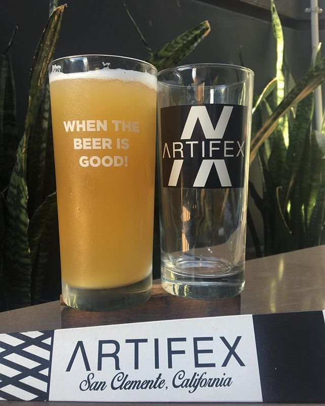 We're tapping 2 magical 🔮 beers for to night's STG. Come in and try @artifexbrewingcompany Unicorn Juice 🦄 an American wheat beer with passion fruit and Whoopsie Hazy 🤷🏻‍♀️🌀a hazy strong pale ale. Come down at 6pm and grab a glass while supplies last!! #artifexbrewingcompany #unicornjuice #whoopsiehazy #americancraft #nocrapontap💩 #staythirstysandiego #lajolla #stealtheglass #eurekautc #lajollalocals #sandiegoconnection #sdlocals - posted by Eureka! San Diego…